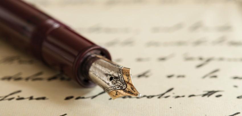 お手紙を書く